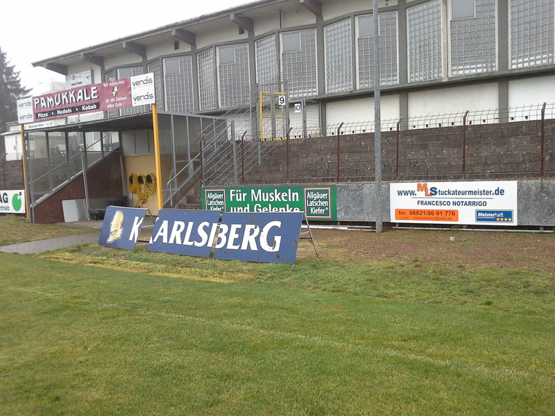 Stadionwerbung VFB Borussia Neunkrichen
